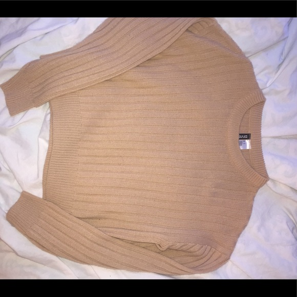 Tan color h&m sweater